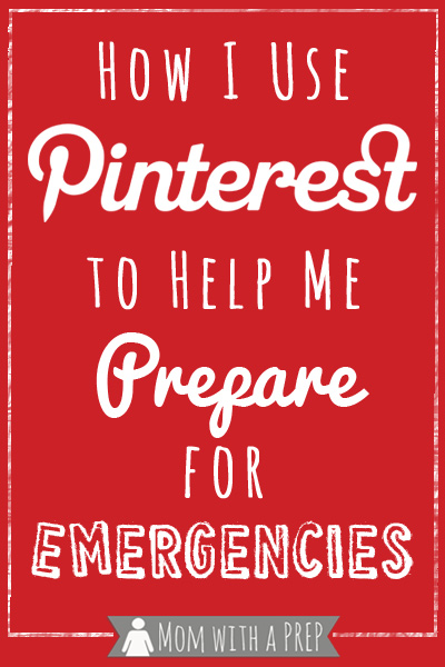 How to use Pinterest to help prepare your family for everyday!