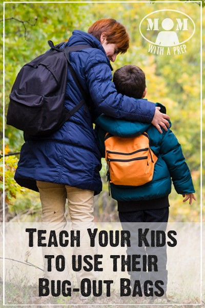 Prepping Your Kids - Teach Your Kids how to use Their Bug Out Bags / 72 hour kits {Mom with a Prep}