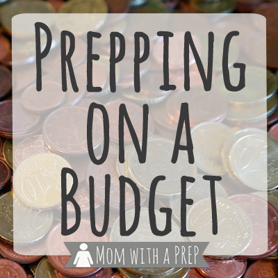 Feeling Discouraged by Prepping on a Budget
