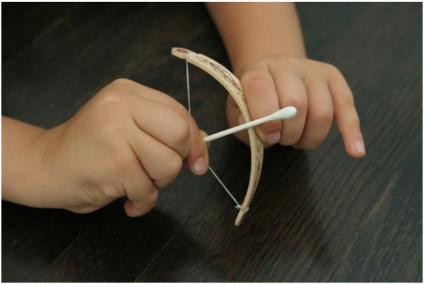 Popsicle Bow & Arrow Craft | Mom with a Prep