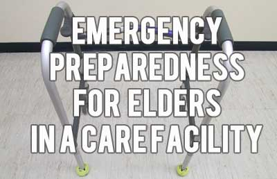 Emergency preparedness for elders is an often forgotten subject - have you prepared to help Grandma in a crisis? Not only do we need to prepare for our families at home, but we need to make sure that Grandma is taken care of, too! Do you have a plan for elderly loved ones that may live alone or in nursing homes? // Mom with a PREP