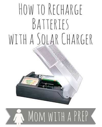 Mom with a PREP | A solar rechargers for all those rechargeable batteries you have! Here's a review!