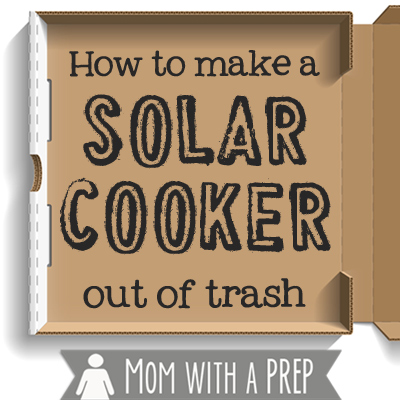 How to Make a Solar Cooker with Trash