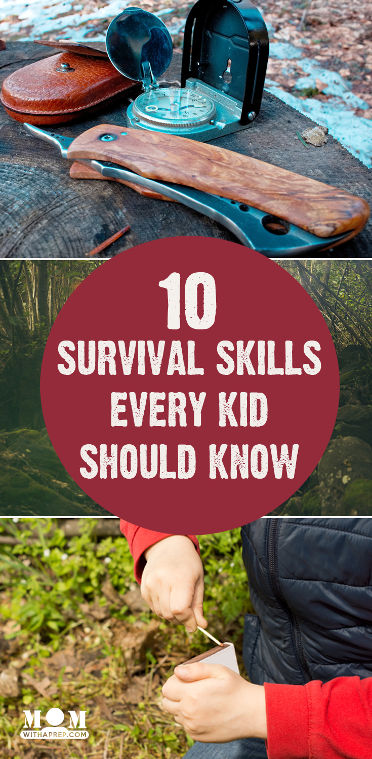 10 Survival Skills Every Child Should Know-- Does your child know these basic life skills? It's about time that he or she did (and frankly - all of us!) // Mom with a PREP