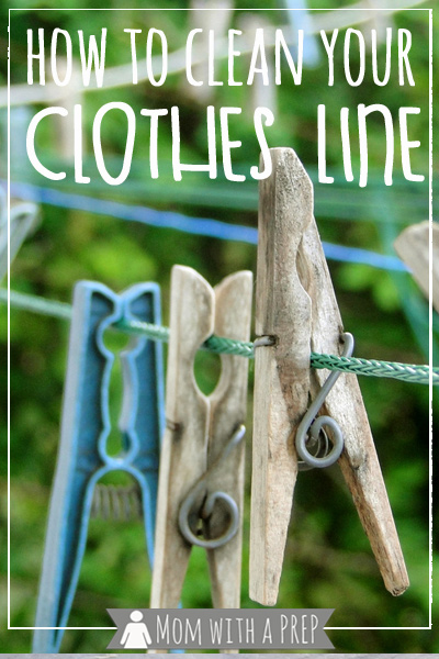 The weather is nice, it's time to start hanging out your clothes for the season to dry. But your clothesline is filthy!! Here are some tips to get it cleaned up for your freshly washed clothes!