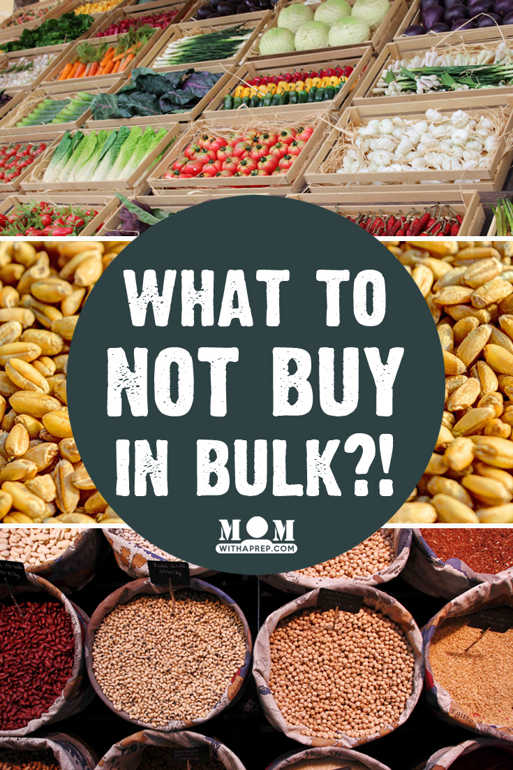 What NOT to buy in bulk? // Those things you've always thought weren't best to buy in bulk? Nuts, fresh produce, etc.? You'll be surprised that they can help you in your food storage.