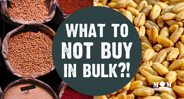 Mom with a PREP // Those things you've always thought weren't best to buy in bulk? Nuts, fresh produce, etc.? You'll be surprised that they can help you in your food storage.