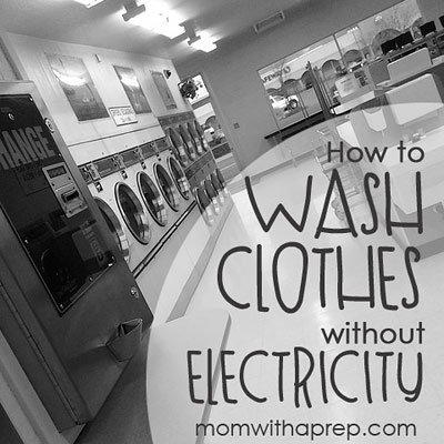 How to Wash Clothes without Electricity - Laundry off the grid | Mom with a Prep