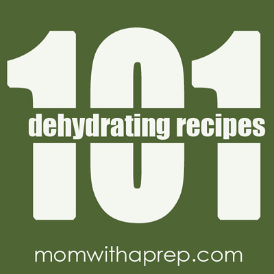 101 + Dehydrating Recipes   { Mom with a Prep Blog }
