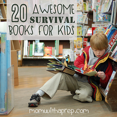 20 Awesome Survival Books for Kids | { Mom with a Prep Blog }