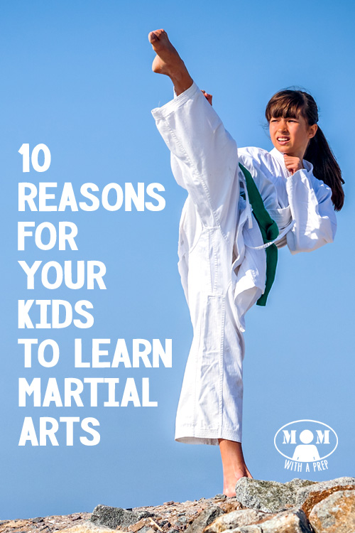 10 Reasons Why a Martial Arts Education is a Good Thing for the Prepared Kid >> Momwithaprep.com