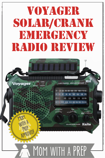 One of the most basic of emergency preparedness items any family needs is a way to be able to get information on what is going on around them. Be it for weather updates, national crisis updates or even hearing music during times of strife, a radio is a great way to get that information. Having a radio that is not dependent on the 'grid' to get that information is also really important.