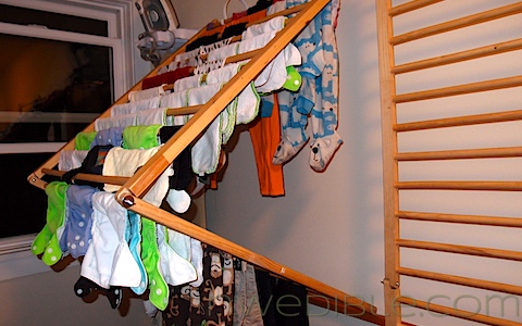 How to dry clothes without electricity | Mom with a Prep Blog