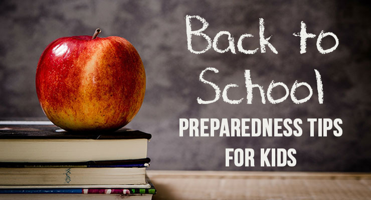 Back to School Preparedness Tips for Kids Mom with a PREP
