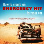 How to Create an Emergency Kit for Your Car | {Mom with a Prep}