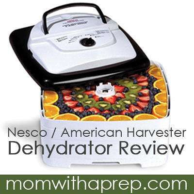 Mom with a PREP | Want a dehydrator but on a tight budget? This workhorse from Nesco might just fit the bill! The Nesco FD-80 Dehydrator Review