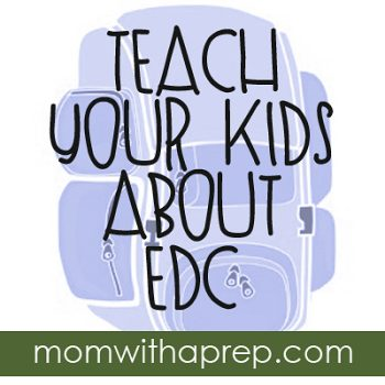 Teach Your Kids about EDC  (Everyday Carry)  |  {Mom with a Prep}