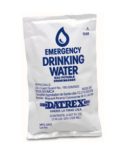 Water in a Bag?! Perfect for tucking away for emergencies in your bag or purse. @ Mom with a Prep