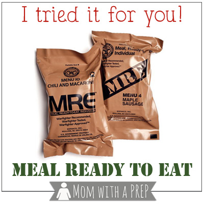 I Tried it for You  A Review of a Meal Ready to Eat (MRE) - Mom with ... 954520b7aa