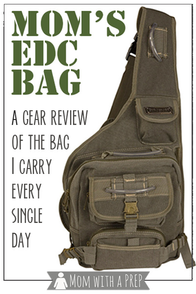 Mom with a PREP | I tried it for you! My Mom's EDC (everyday carry) Bag Review and what I carry inside. When I wrote my article on my Mom's EDC list, I got a ton of questions from people wanting to know where I got the bag. So, I decided to try it for you.... #edc
