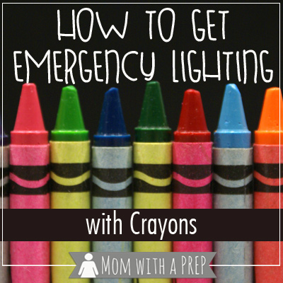 How to Get Emergency Lighting With Crayons