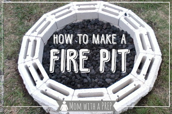 DIY Backyard Fire Pit | Need A Project For The Weekend That Your Family Can  Enjoy