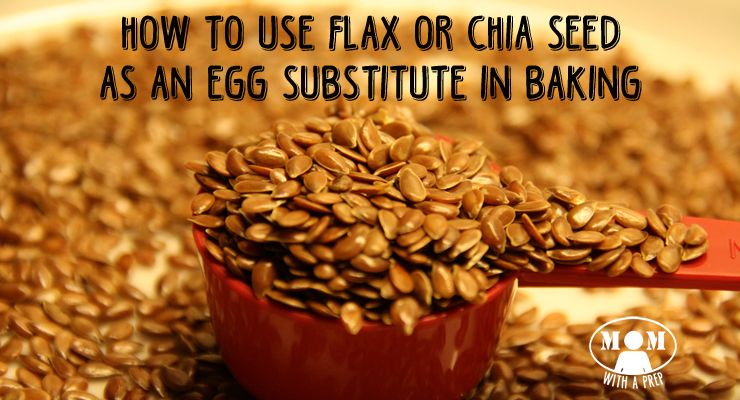 DARN! You have just dropped your last egg and you cannot get to the store. What ever will you do to finish the cookies for school tomorrow? Flax seed to the rescue!