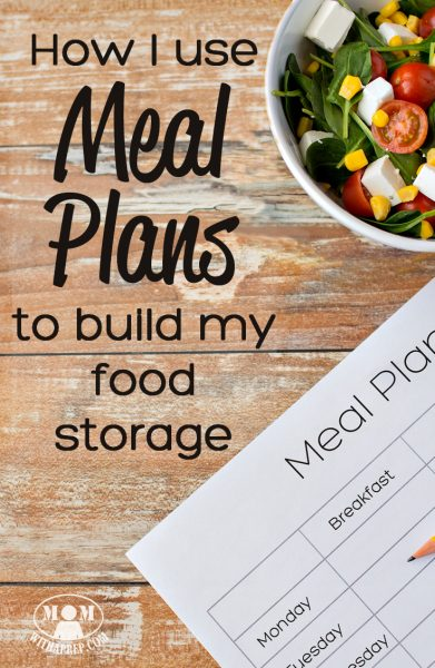 Using meal plans is a great way to get a jump on stocking your PREPared pantry for your family. Find out how to increase your stores while you plan for your week's meals! Includes a FREE PRINTABLE!