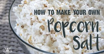 How to Make Your Own Popcorn Salt