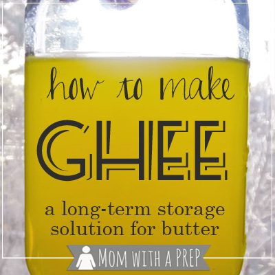 How to Make Ghee – a Long-term Storage Solution for Butter