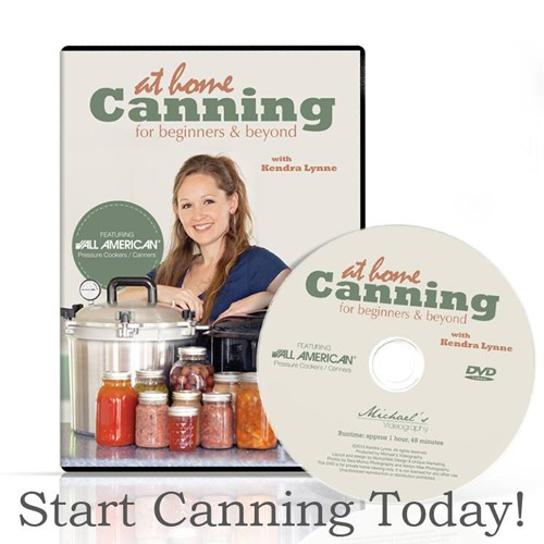 At Home Canning Course to learn to can foods from garden - canning & pickling salt