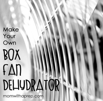 Redneck Dehydrator - Make your own Box Fan Dehydrator - an Alton Brown Hack | Mom with a Prep