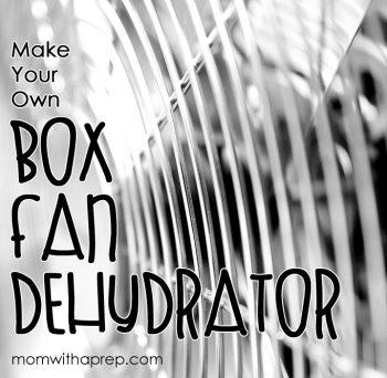 Redneck Dehydrator - Make your own Box Fan Dehydrator - an Alton Brown Hack | Mom with a Prep