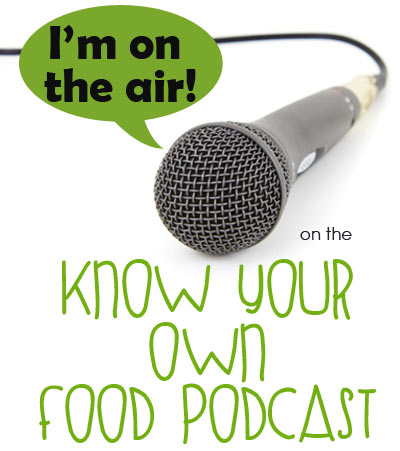 I'm on the Air! The Know Your Own Food Podcast with Wardee Harmon from GNOWFGLINS.com where we discuss preparedness, kids, food, more kids, homeschooling and preparing with and for kids! | Mom with a Prep