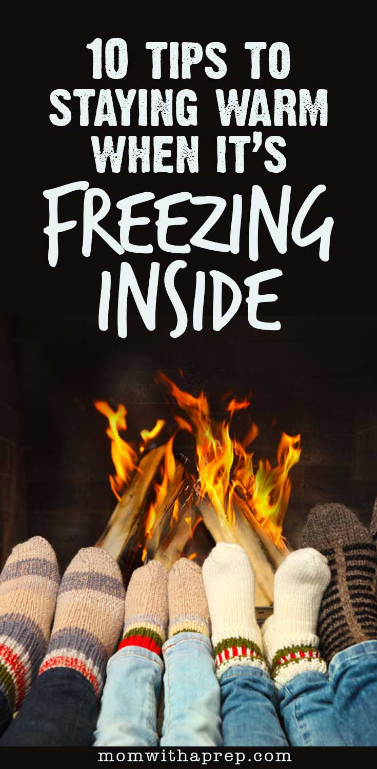 10 ways to keep from freezing in the winter or how not to die at
