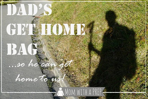 What do you do when you're away from home, and a regional/national disaster strikes and you have to walk home? Here's what Dad carries in his Get Home Bag so that he can get home to us! READ MORE srcset=