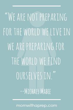 Preparedness Quotes @ MomwithaPrep.com