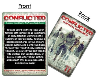 Conflicted: The Survival Card Game - Deck 2 Pre-order now!!!