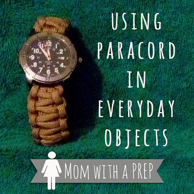 Using Paracord in Everday Ojects | Mom with a PREP - where can YOU hide your paracord?