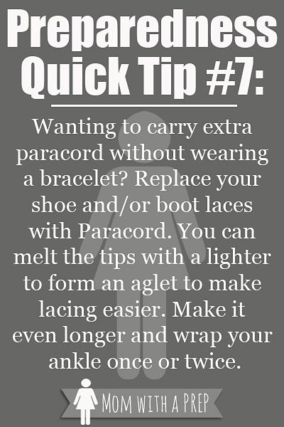 PQT #7 - Alternative Shoe Laces that can safe your life!