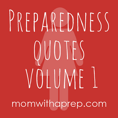 A Few Good Preparedness Quotes For Motivation Mom With
