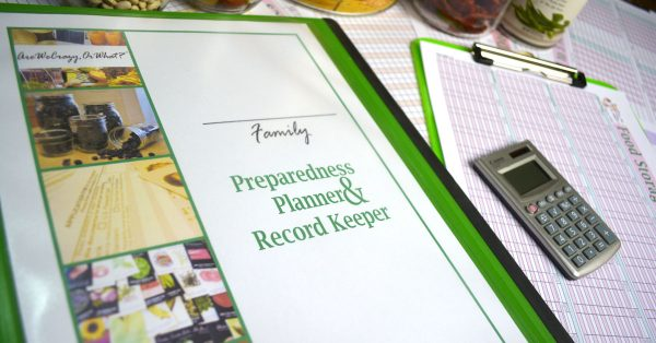Mom with a PREP | The Preparedness Planner & Record Keeper - How I use it to help build a better pantry for my family!