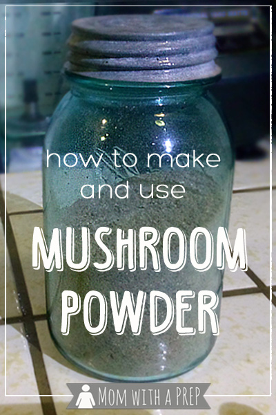 Mom with a PREP   Love mushroom flavor but don't like the texture? Want to find a way to add more umami without adding meat? Try making your own mushroom powder!