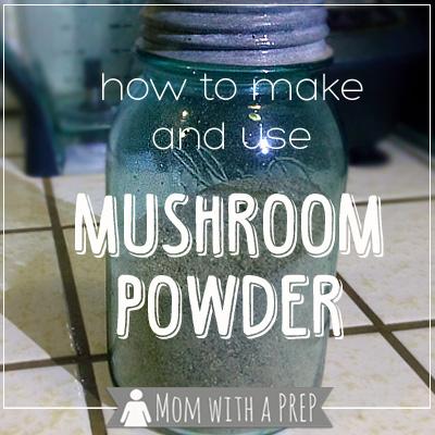 How to Make and use Mushroom Powder