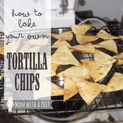 Bake Your Own Tortilla Chips