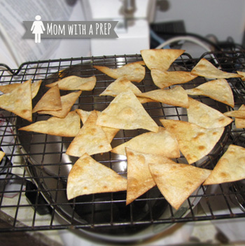 How to Bake Your Own Tortilla Chips - finding a way to make some of your favorite snacks without the grocery store