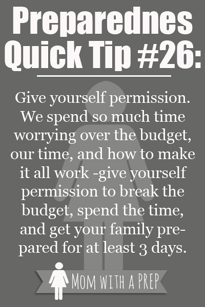 how to give yourself permission