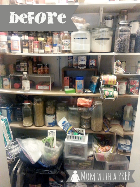 It's time to Spring Clean that Pantry! Yep, it's time to clean, take stock of your food storage, and begin to SEE what you have in your pantry. Really, it won't hurt much!