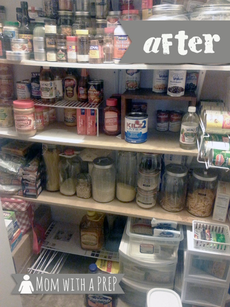 It's time to Spring Clean that Pantry! Yep, it's time to clean, take stock of your food storage, and begin to SEE what you have in your pantry. Really, it won't hurt much! // Mom with a PREP