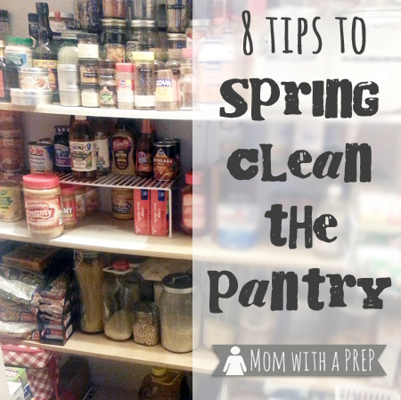 It's time to Spring Clean that Pantry! Yep, it's time to clean, take stock of your food storage, and begin to SEE what you have in your pantry. Really, it won't hurt much! >>> Mom with a PREP